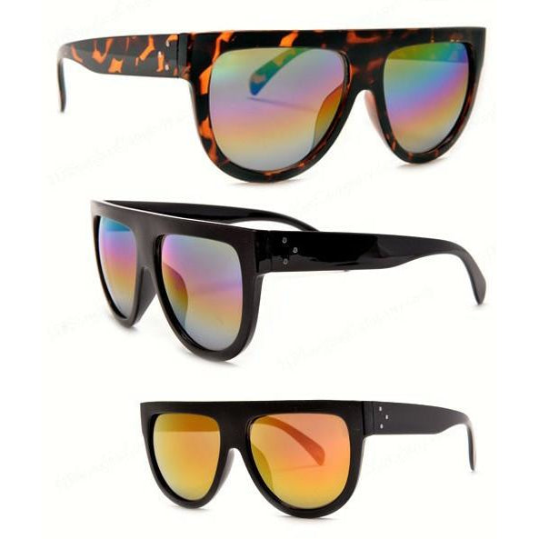 High Fashion Flat Top Sunglasses