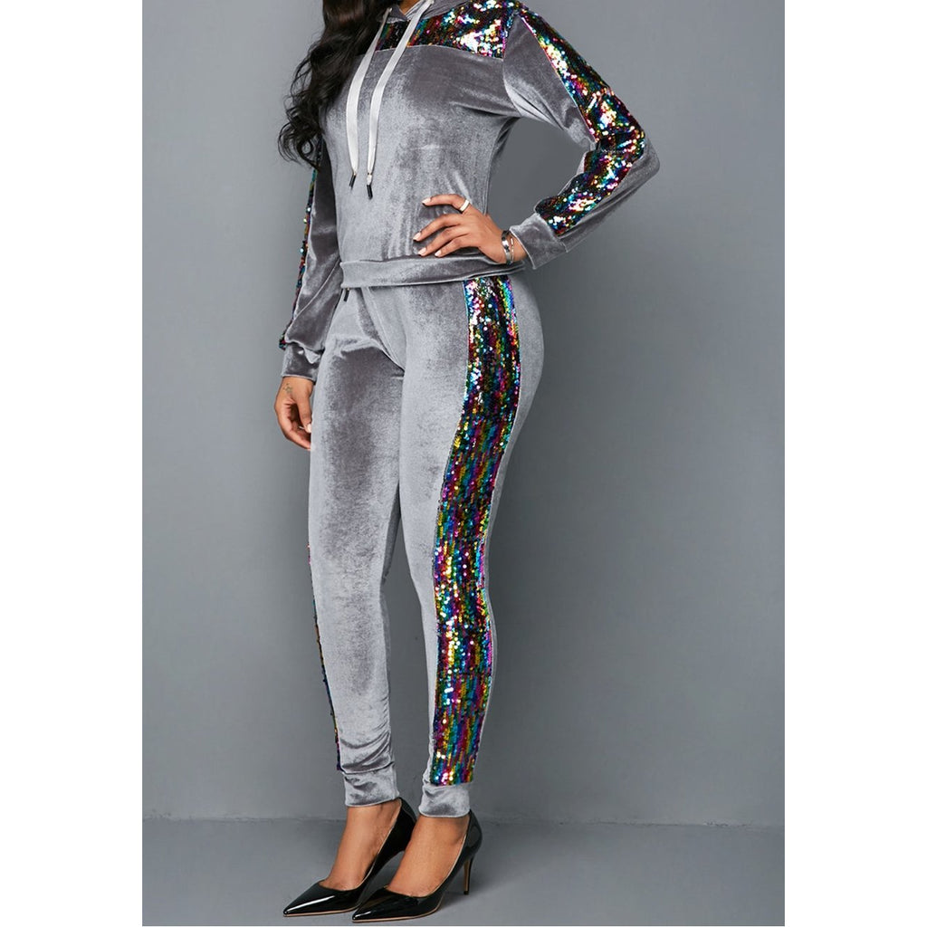 Sassy Sequin Jogget Set