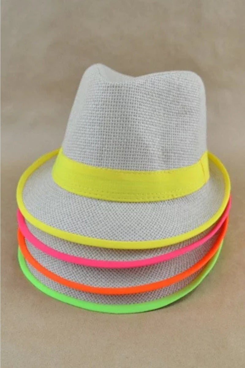 Color the city Fedora Hat