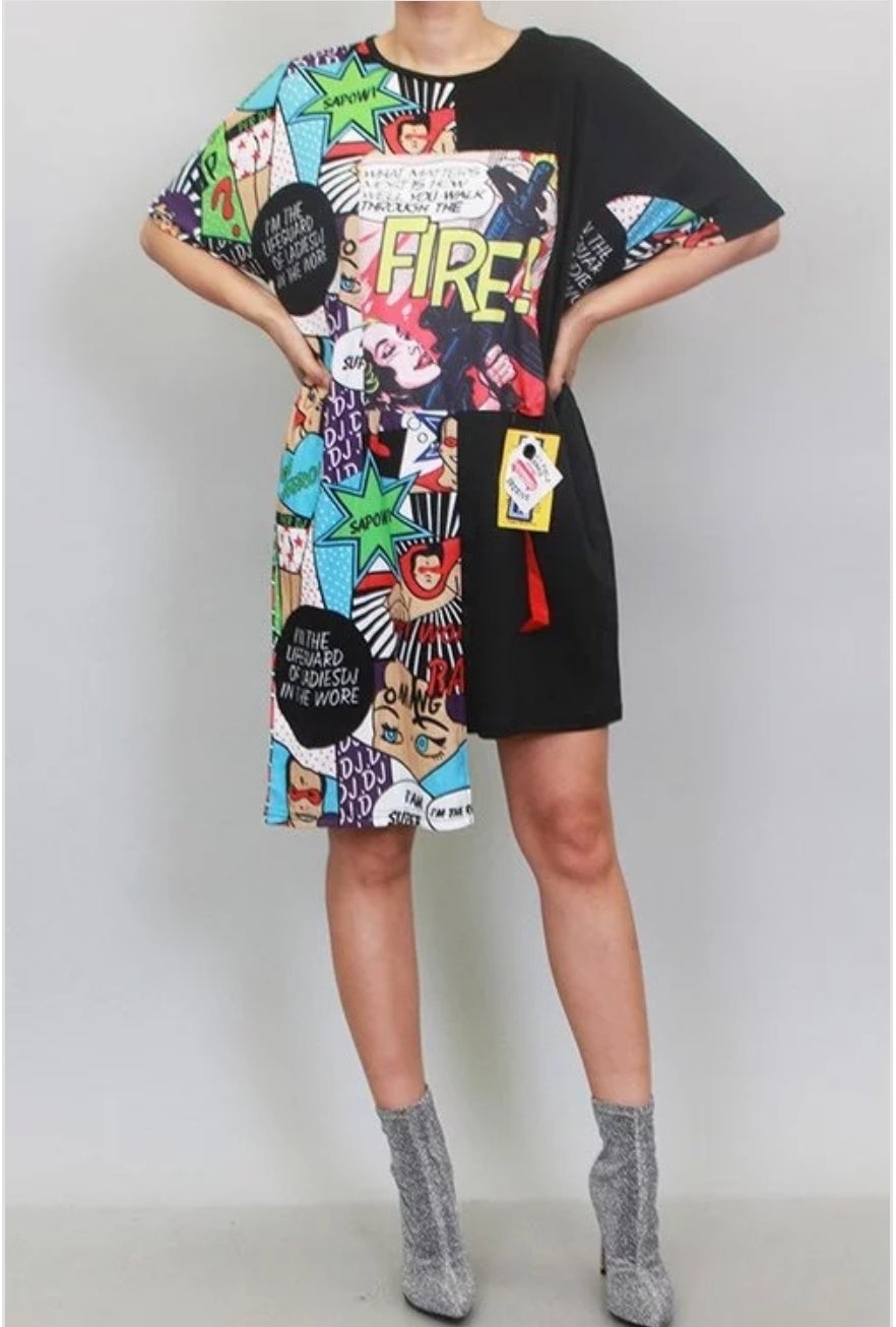 Comic-Con Shirt Dress