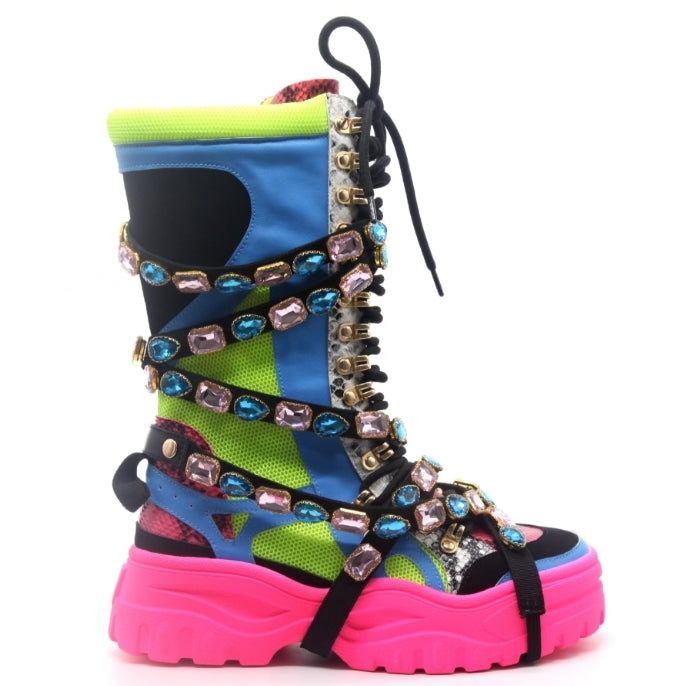 Take a Hike Bejeweled Boots