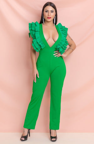 Jolly Green Jumpsuit
