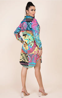 Miami Nights Shirt/Dress