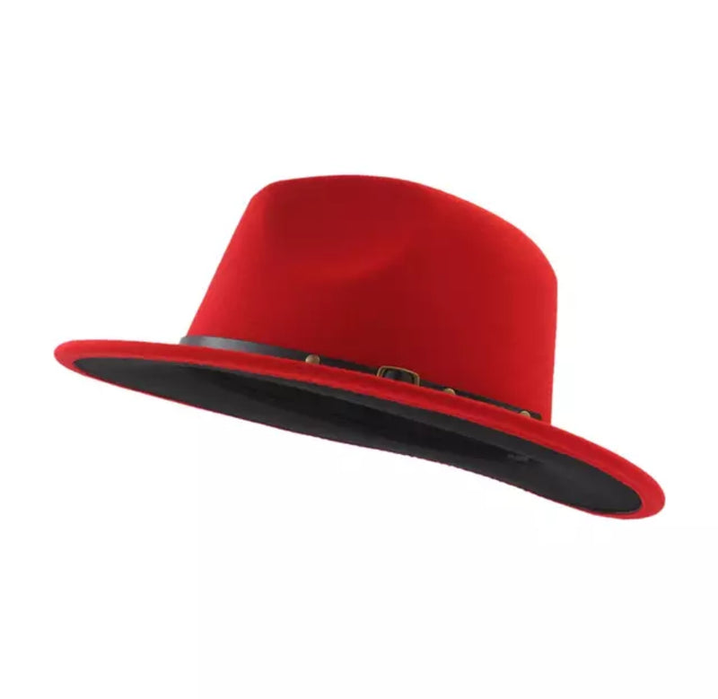 Red Robin Fedora Hat