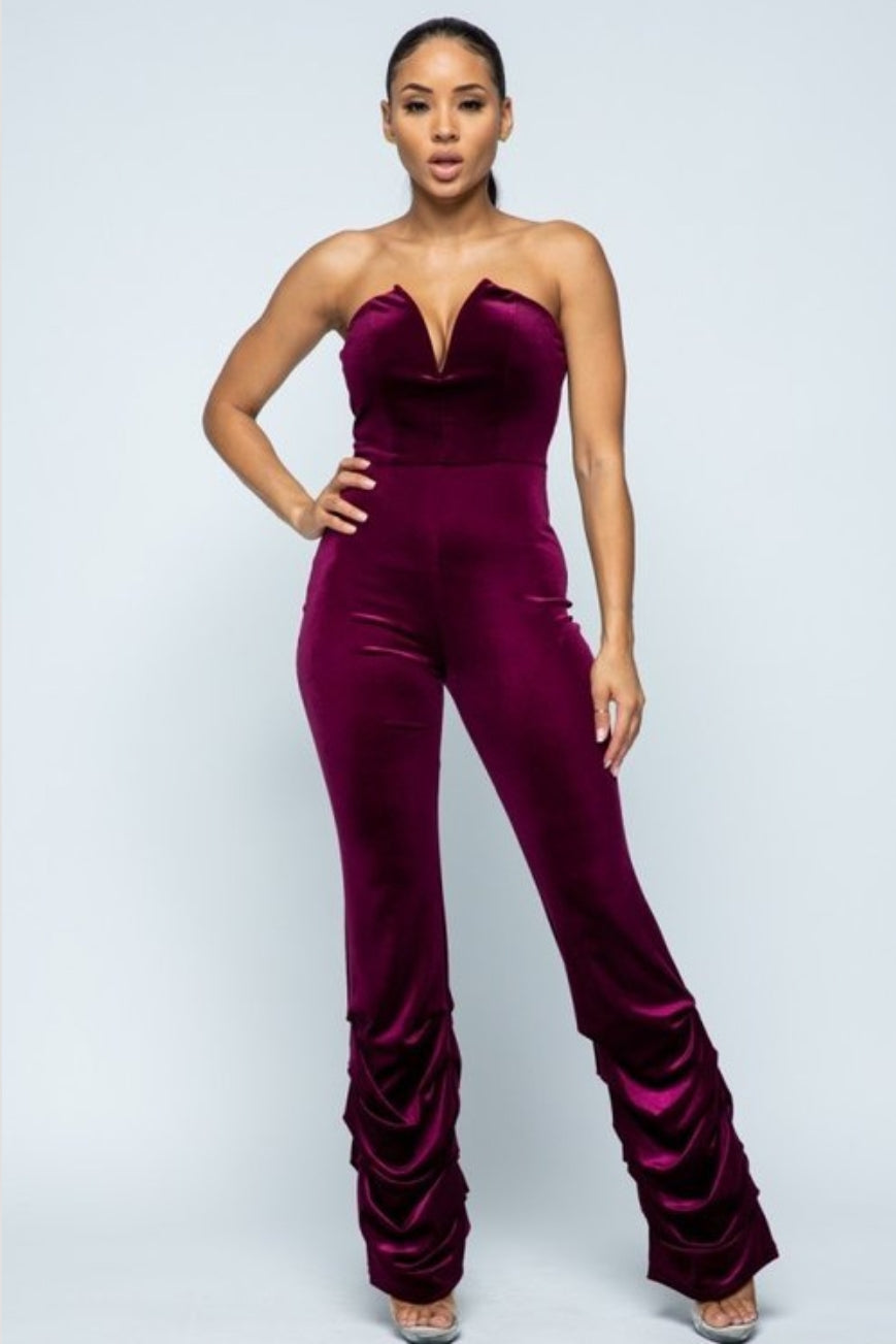 Oh So Velvet Jumpsuit
