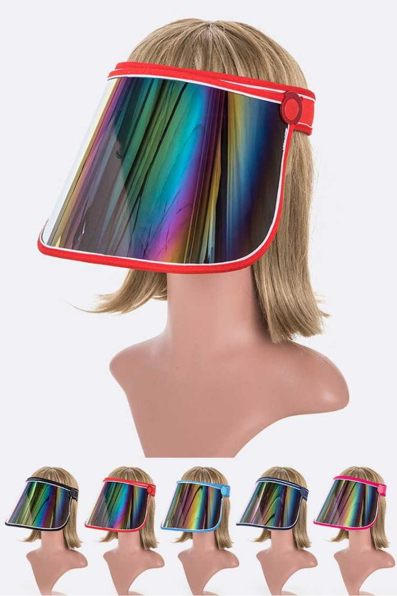 Rainbow Shield Visor