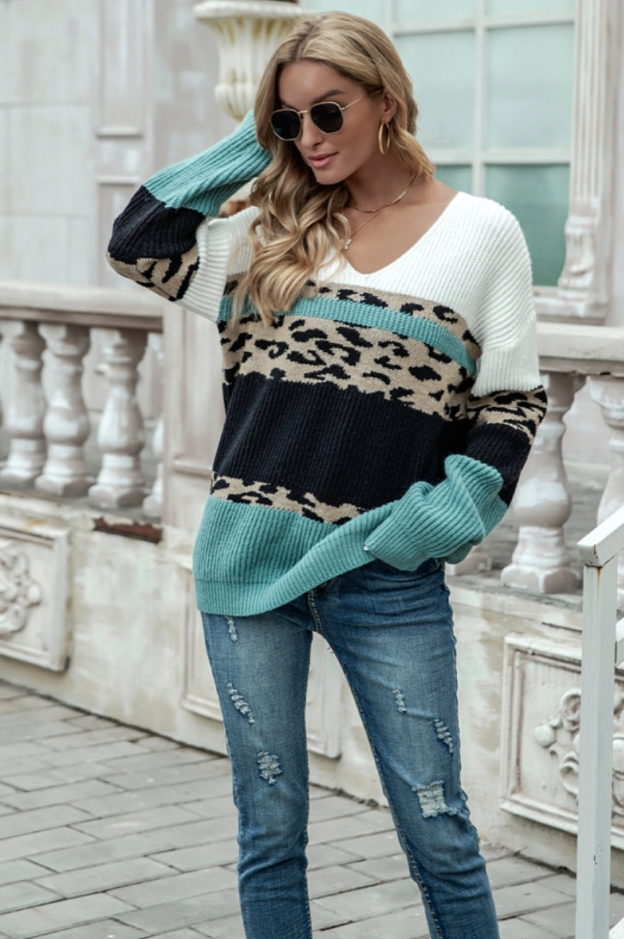 Leopard Dreams Sweater