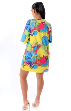 Spring Breeze Shirt Dress