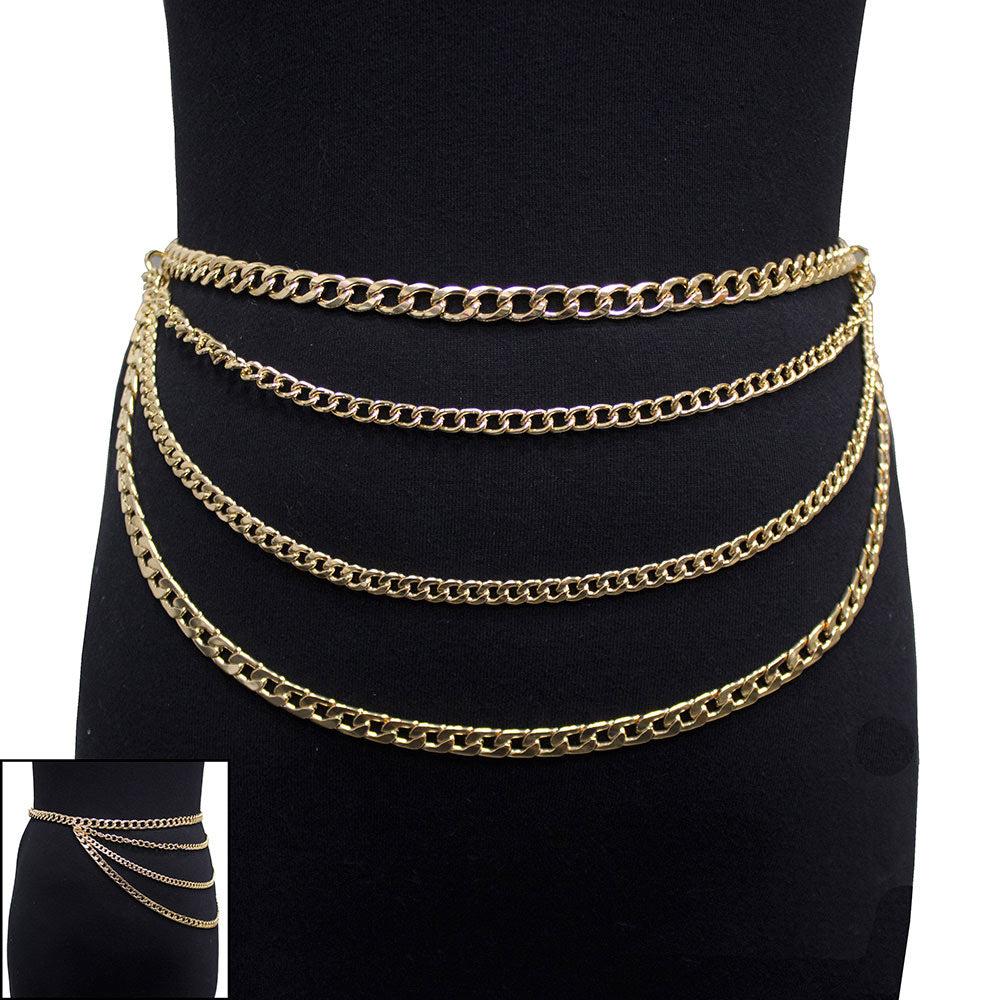 Layered Chain Belt