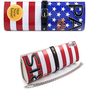 Patriotic Magazine Clutch