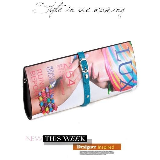 Lux High Fashion Magazine Clutch