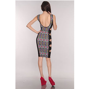 Curvy Cut Out Bodycon Dress