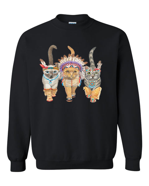 Native Kitties Crewneck