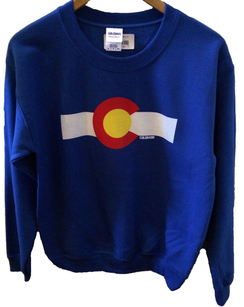 Colorado Flag Crewneck