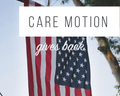 Care Motion Gives Back