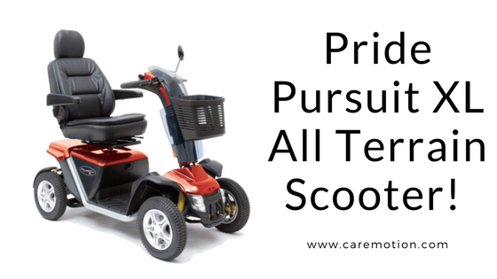 Care Motion's Best All Terrain Scooter! - Pride XL Pursuit All Terrain