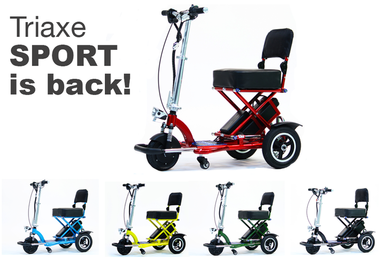Care Motion's BEST Folding Scooter, IS BACK!