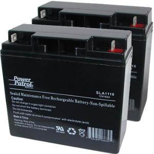 Pride battery (Pair) & Charger