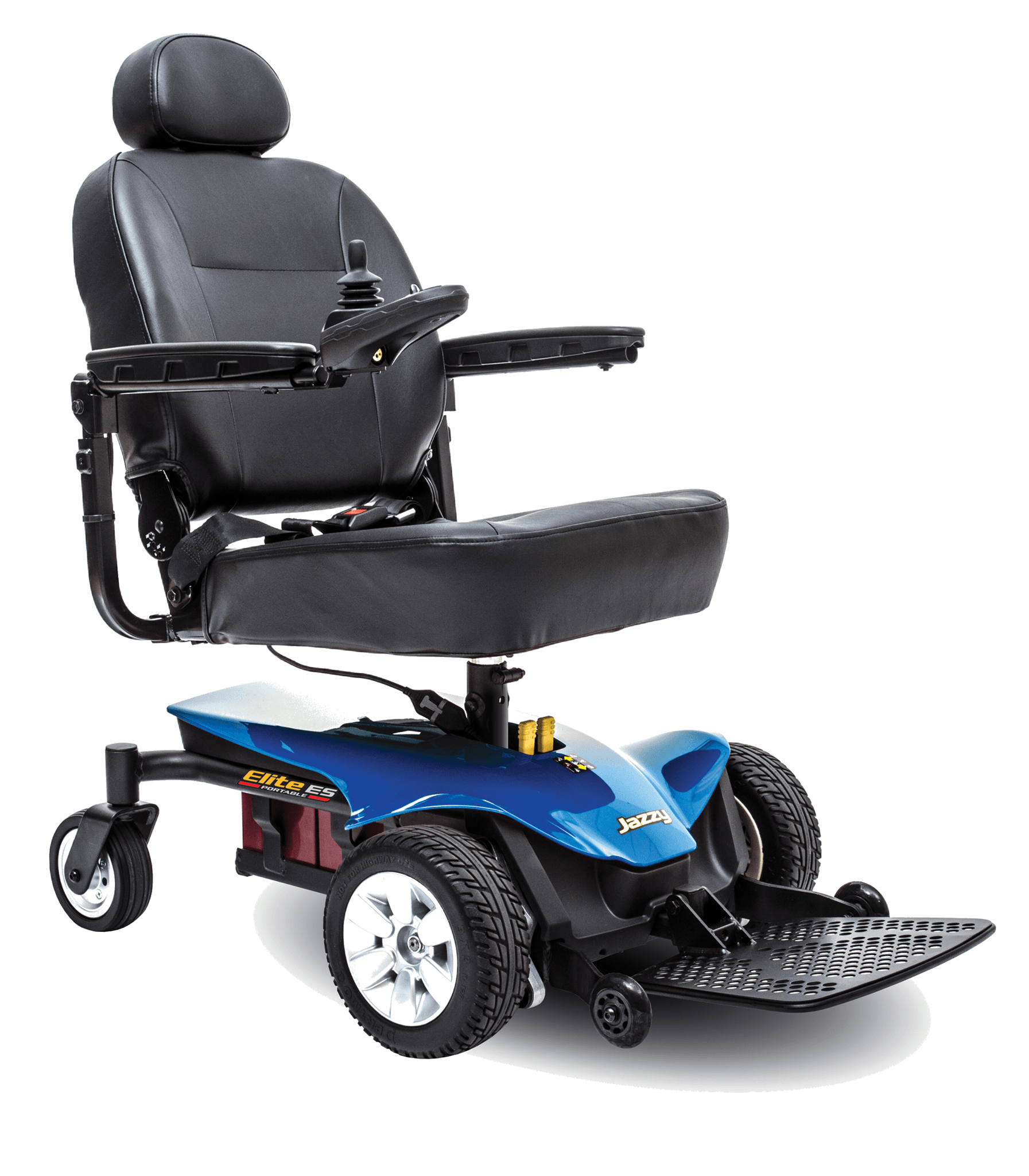 Jazzy Elite ES Portable Power Wheelchair Blue