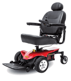 Jazzy Elite ES Portable Power Wheelchair Red