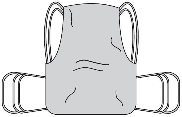 One Piece Sling with Positioning Strap