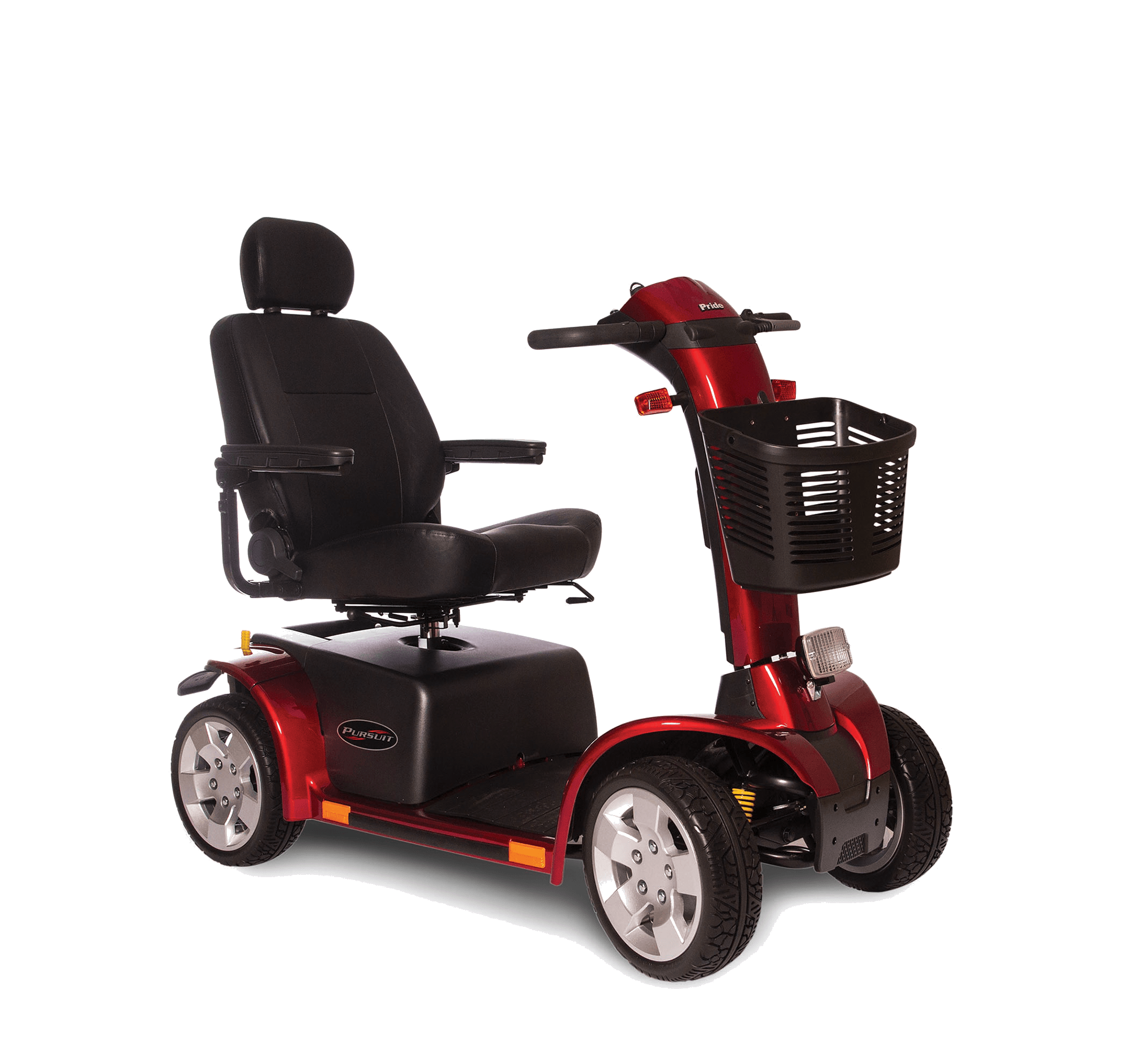 Pursuit All-Terrain Scooter Red
