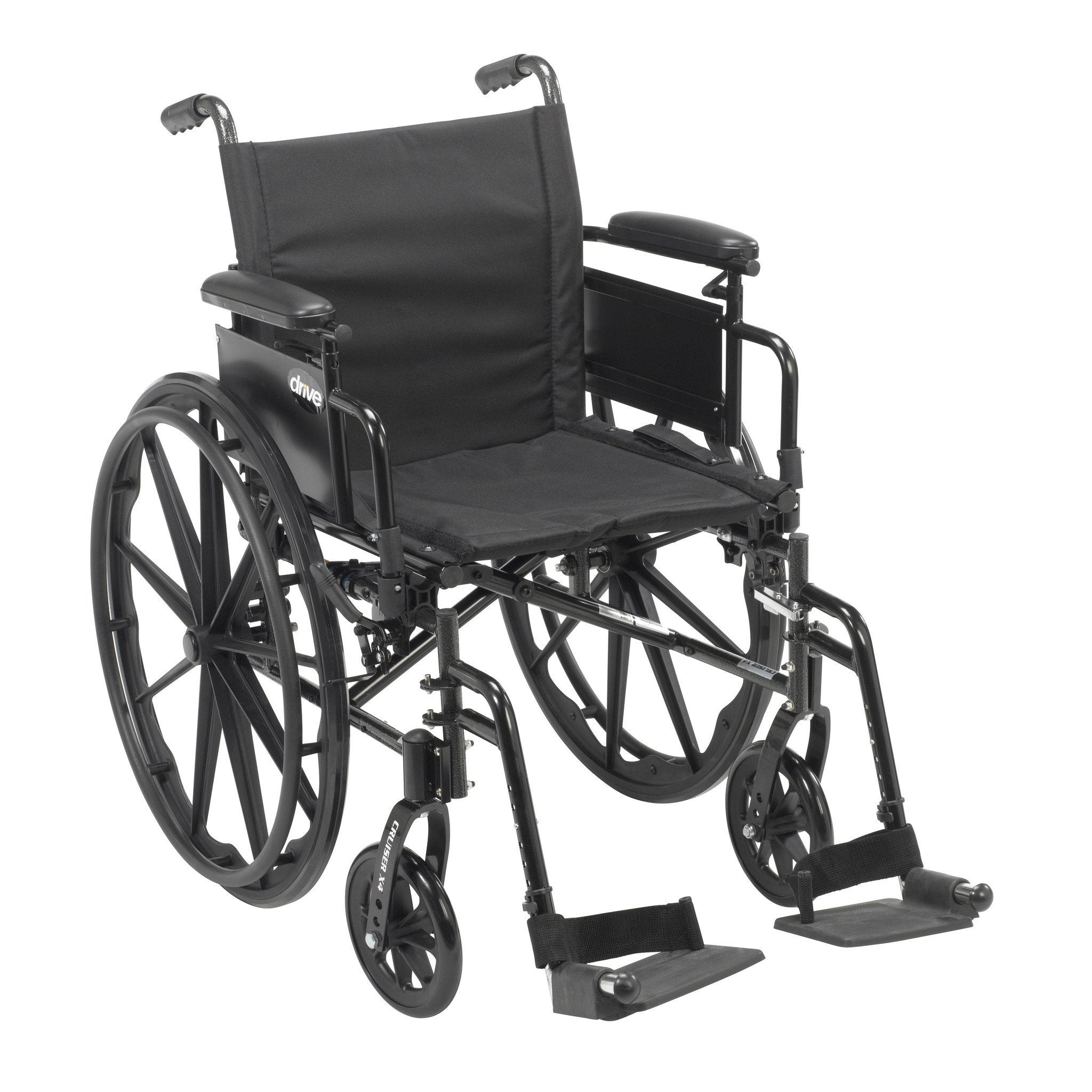 Drive Cruiser X4 Lightweight Dual Axle Wheelchair