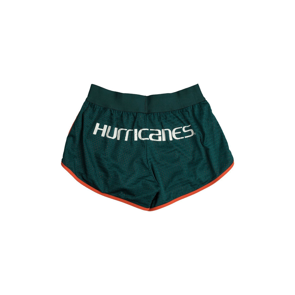 University of Miami Mesh Running Short