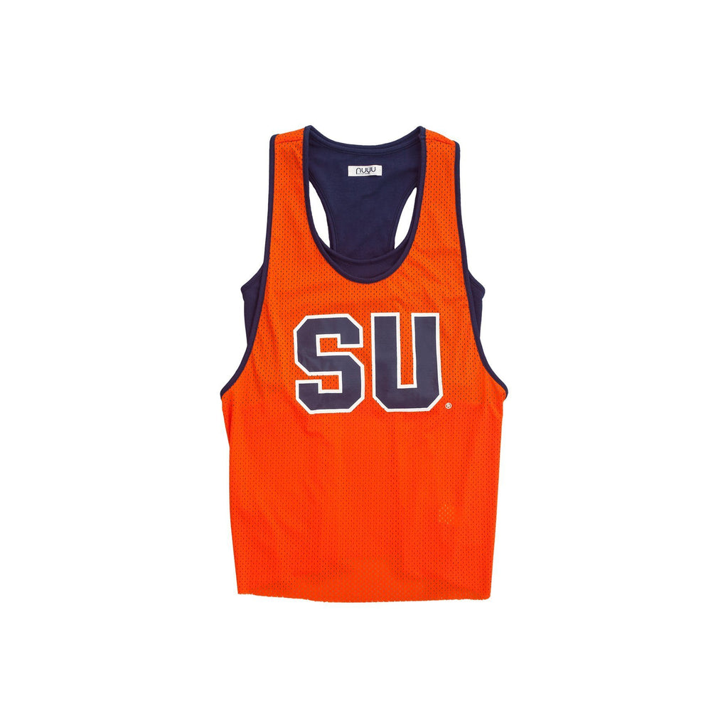 Syracuse University Mesh Tank with Attached Sporty Bralette