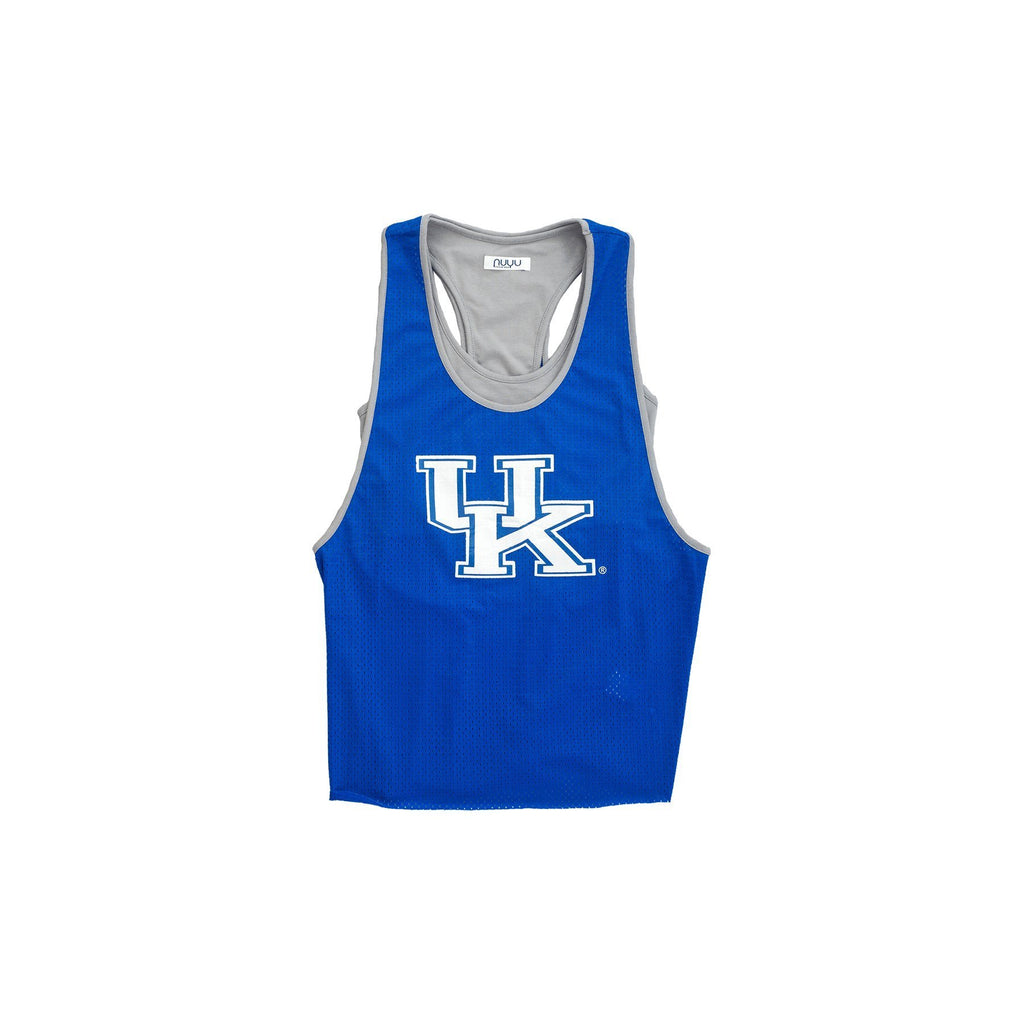 University of Kentucky Mesh Tank with Attached Sporty Bralette