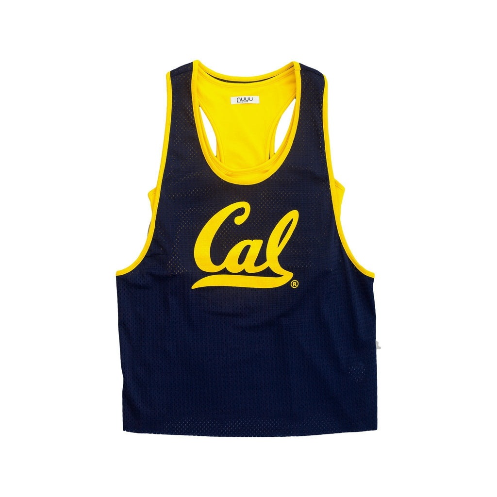 University of California, Berkeley Mesh Tank with Attached Sporty Bralette