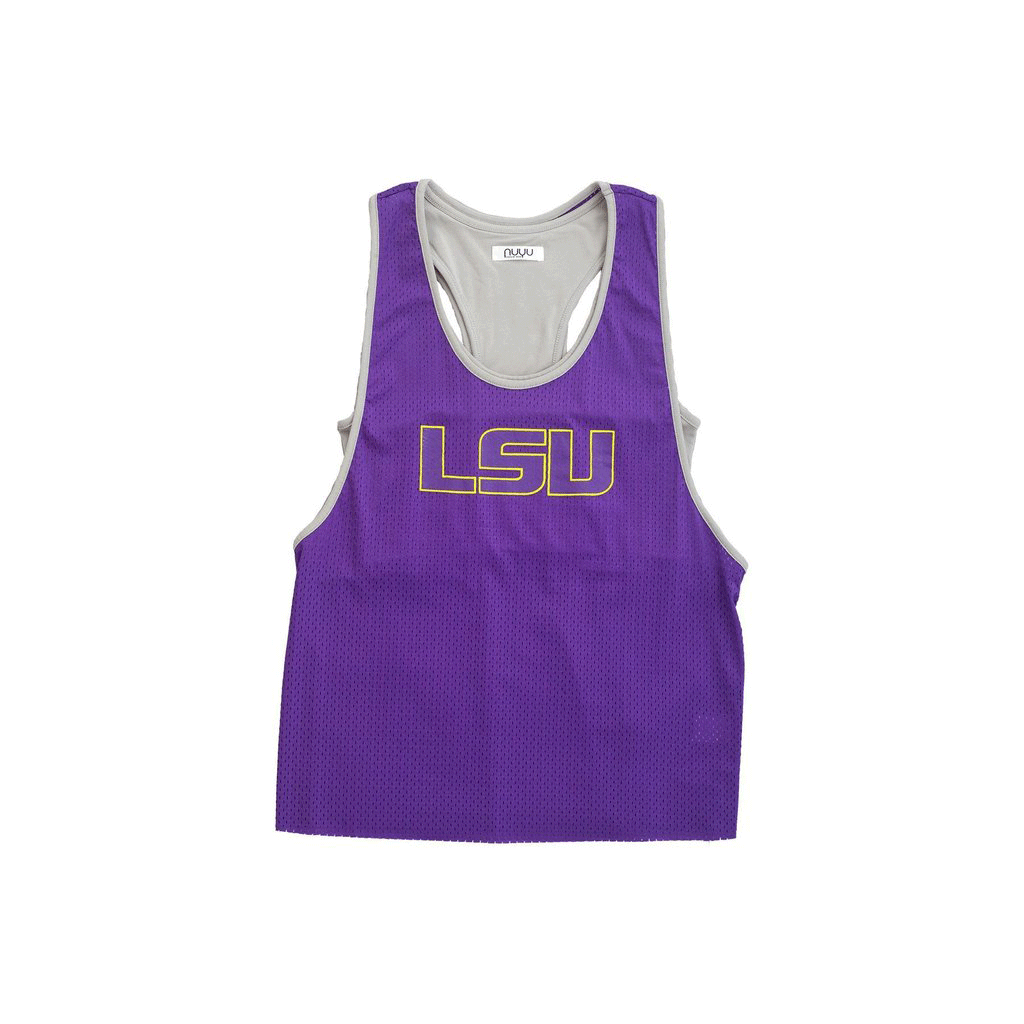 3b86a915070404 Louisiana State University Mesh Tank with Attached Sporty Bralette ...
