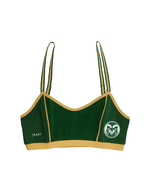 e5f0dfda71 Colorado State University Sporty Bralette with Back Straps