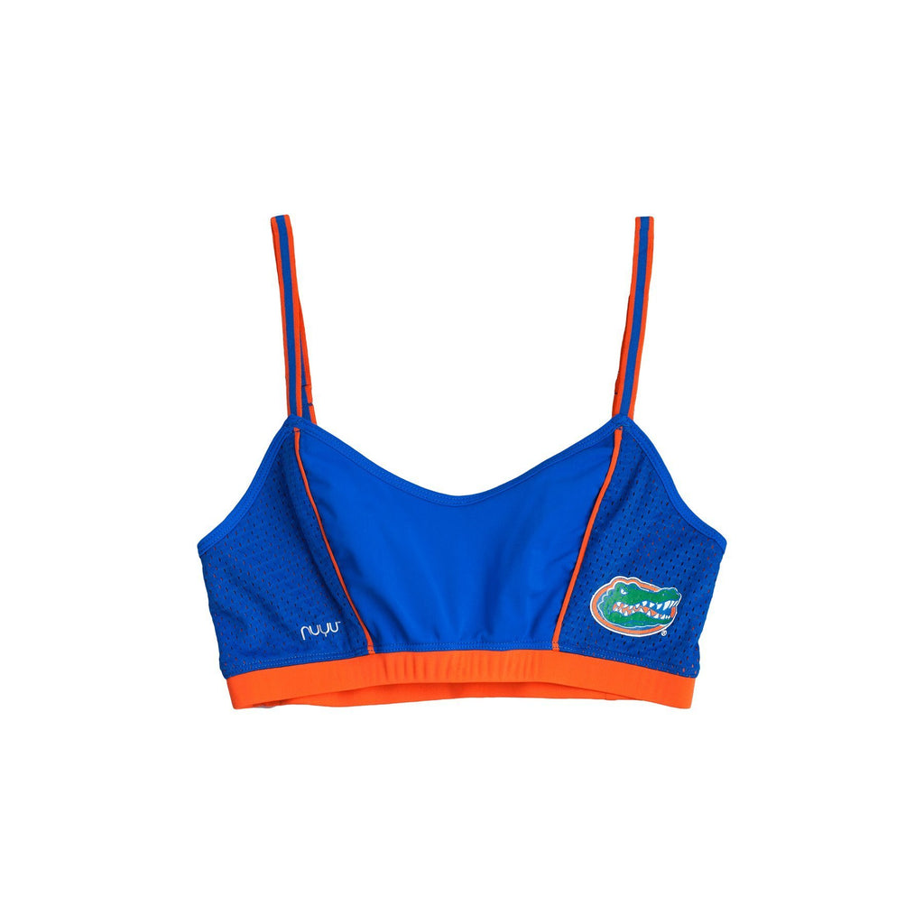 b10a8a68f0 University of Florida Sporty Bralette with Back Straps