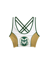Colorado State University Sporty Cropped Tank