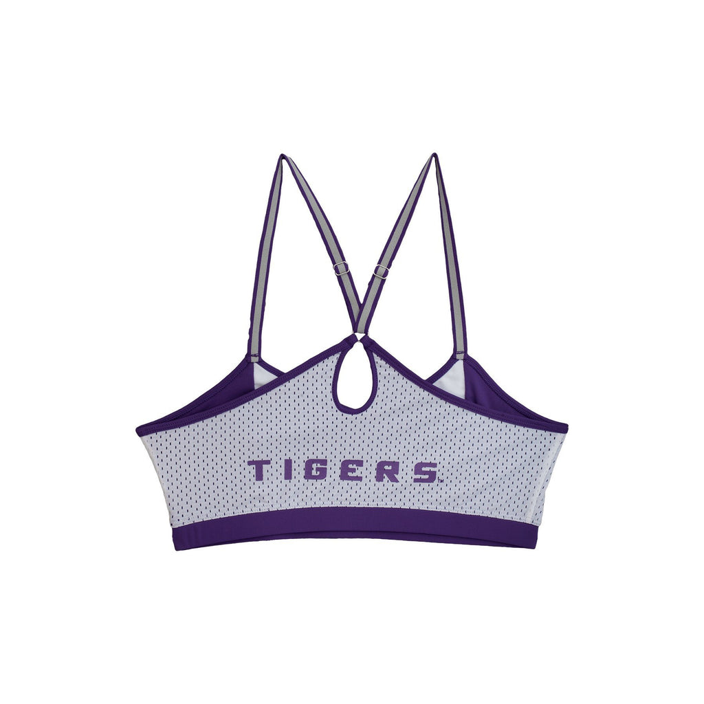Louisiana State University Sporty Bralette with Keyhole