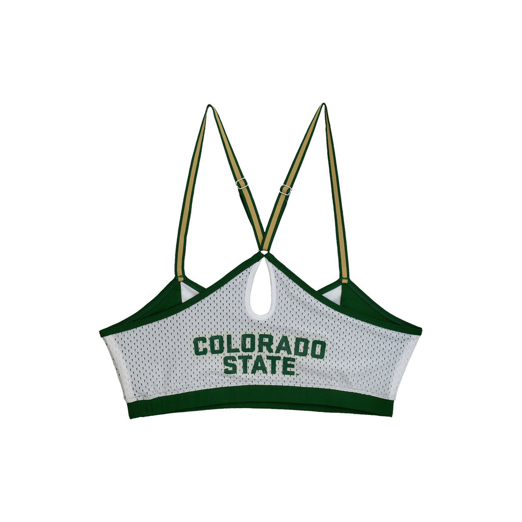 Colorado State University Sporty Bralette with Keyhole