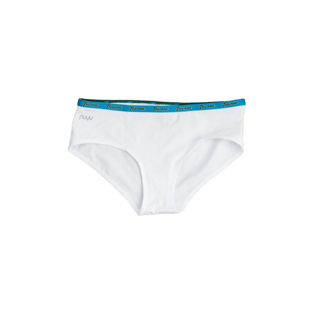 Tulane University Boyshort with Logo Elastic Trim