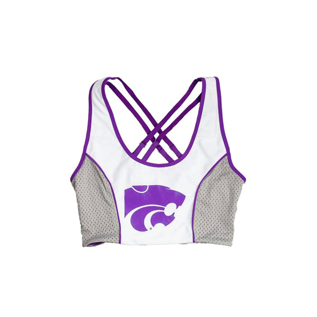 Kansas State University Sporty Cropped Tank