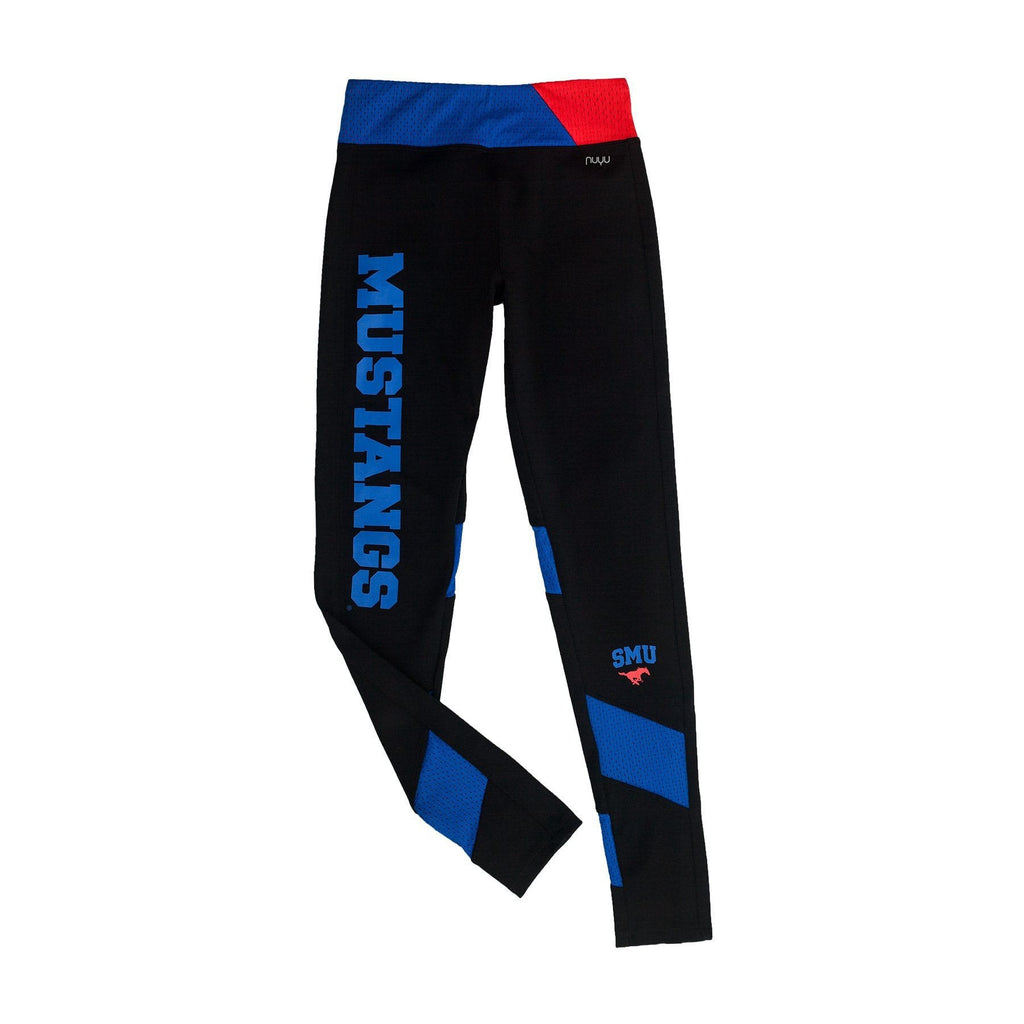 Southern Methodist University Yoga Legging with Mesh Insert