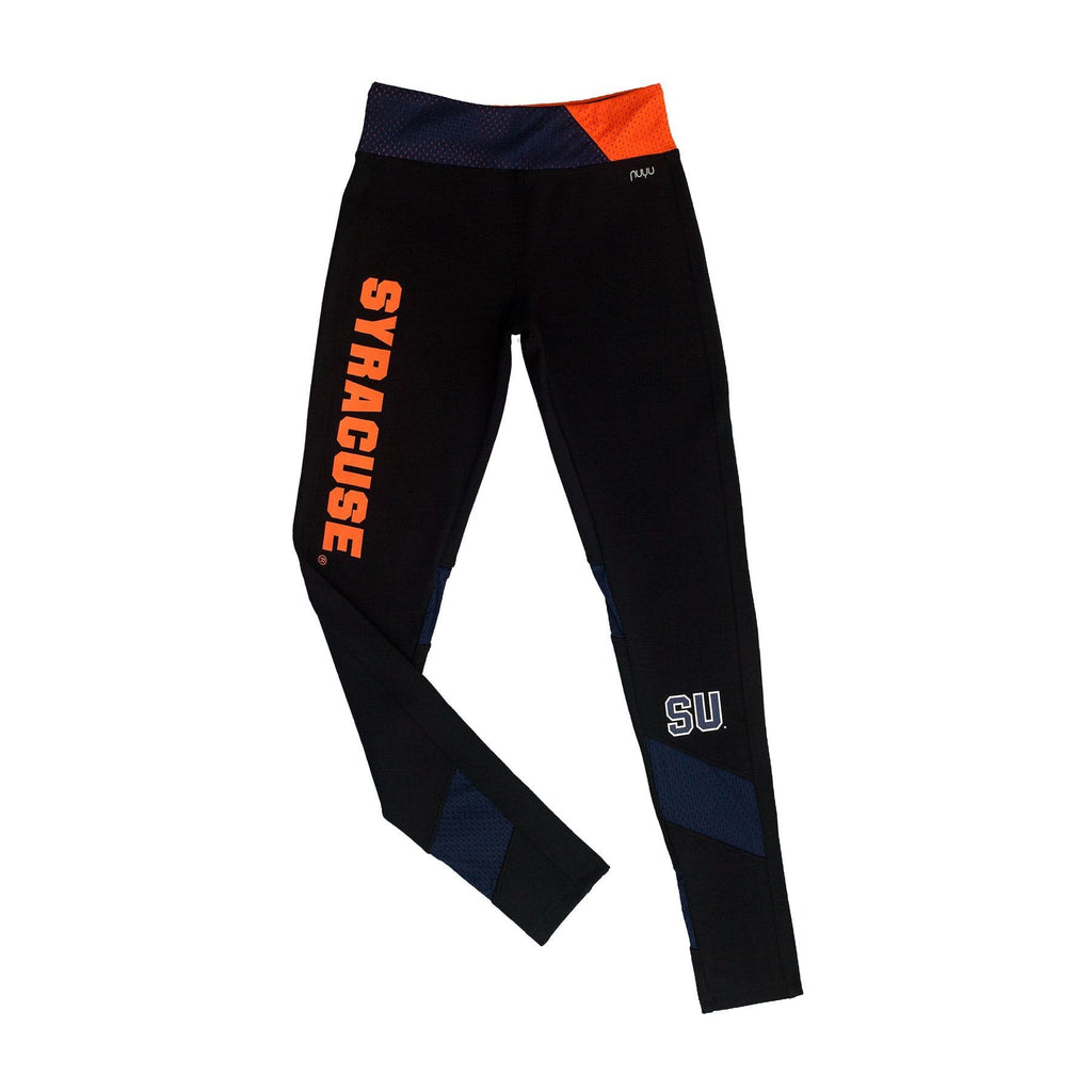 Syracuse University Yoga Legging with Mesh Insert