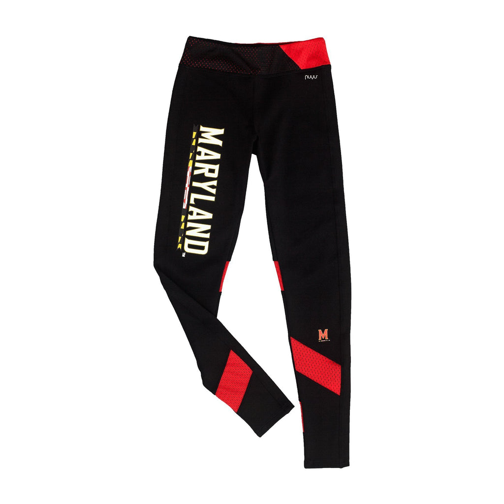 University of Maryland Yoga Legging with Mesh Insert