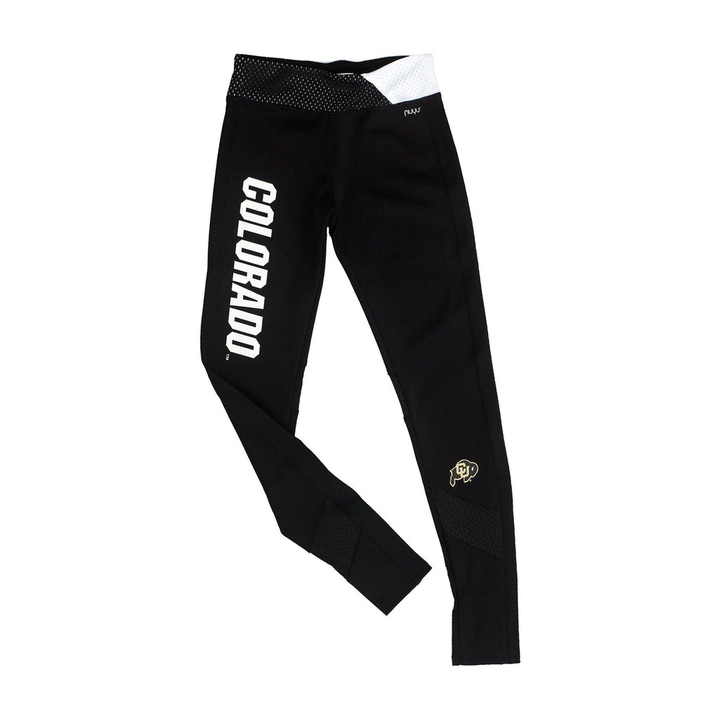 University of Colorado Yoga Legging with Mesh Insert