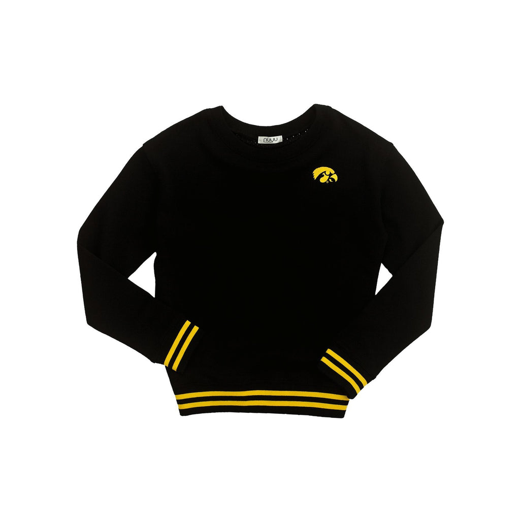 University of Iowa Mesh Back Sweatshirt