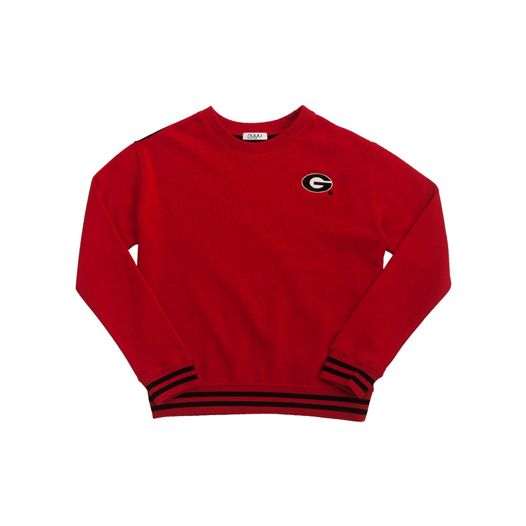 University of Georgia Mesh Back Sweatshirt