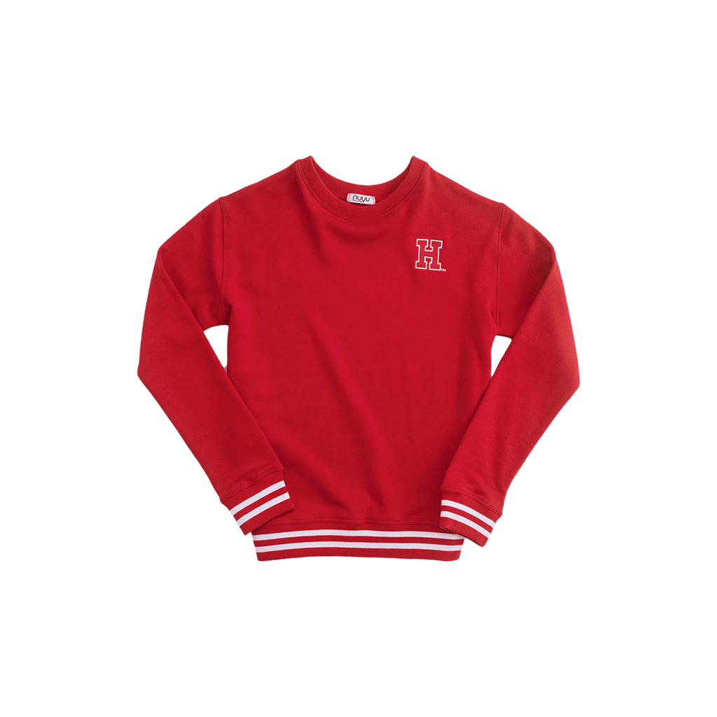 Harvard Mesh Back Sweatshirt