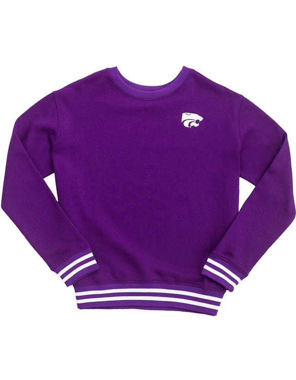 Kansas State University Mesh Back Sweatshirt