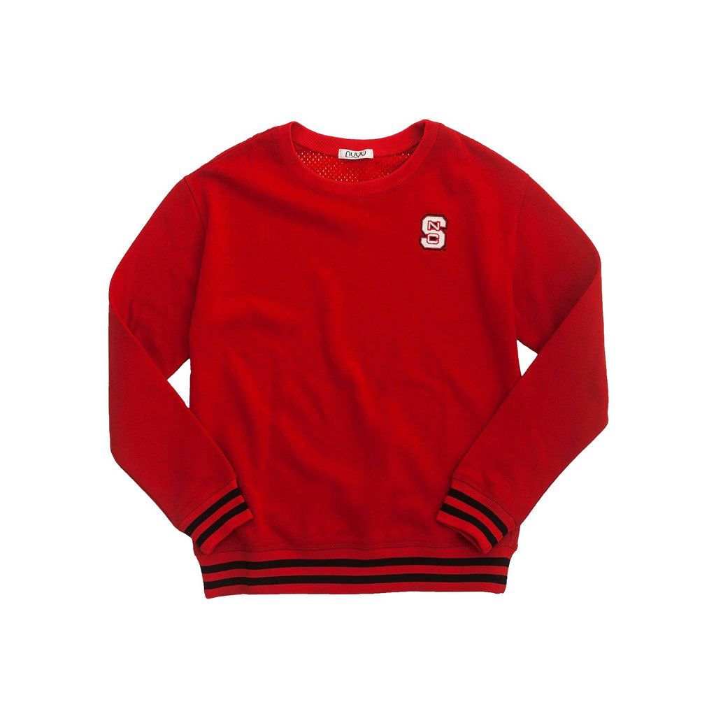 North Carolina State University Mesh Back Sweatshirt