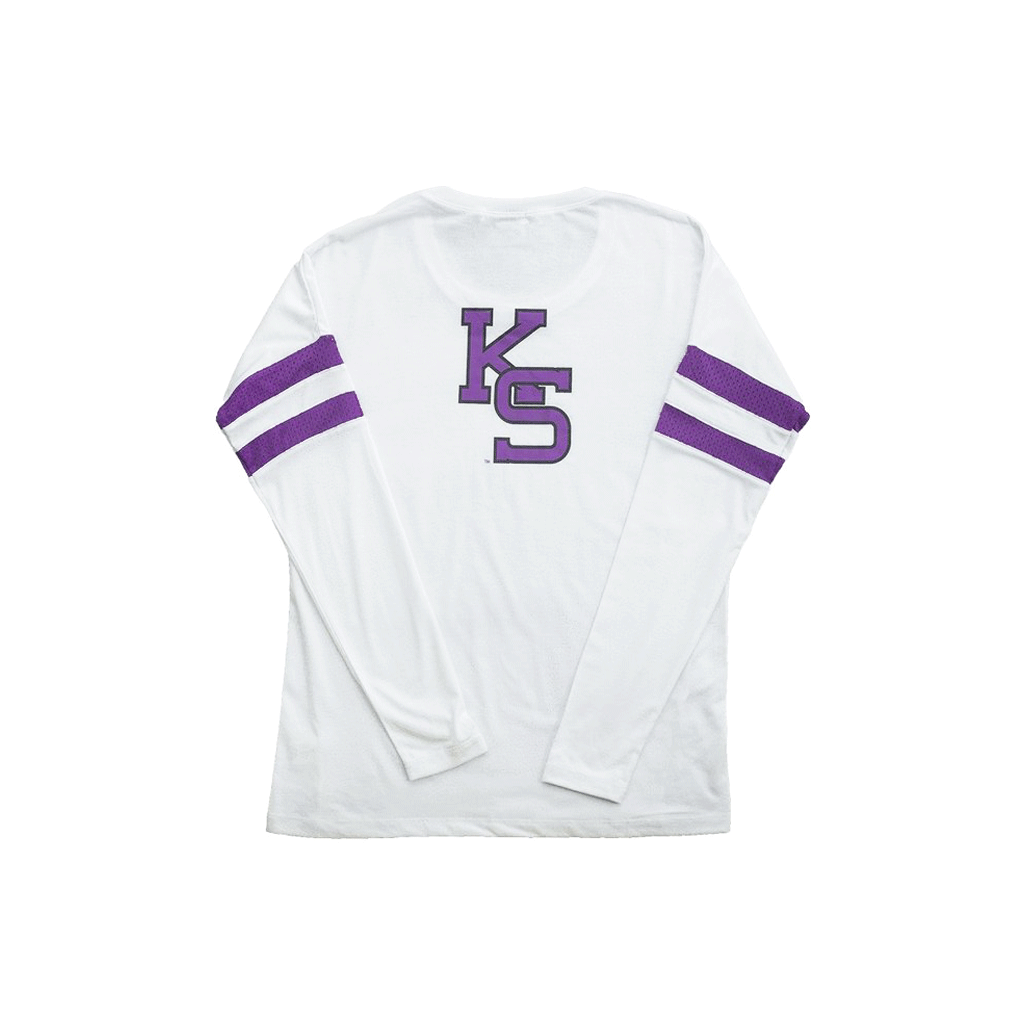 Kansas State University Long Sleeve Relaxed Crew