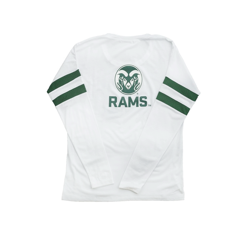 Colorado State University Long Sleeve Relaxed Crew